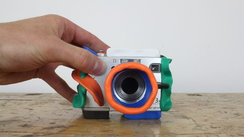 Make A Drop-Proof Camera For Your Kid Using Sugru