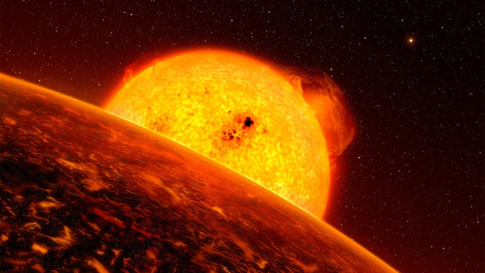 An Enormous Exoplanet Is Having A Strange Influence On Its Star