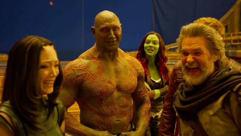 The Cast Of Guardians Of The Galaxy Vol. 2 Had Way Too Much Fun On Set