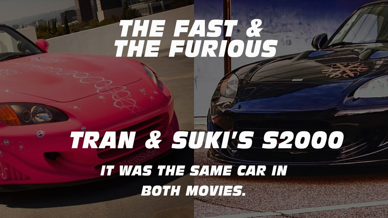 The Two Most Iconic Honda S2000s In Fast And Furious Were The Same Car!?