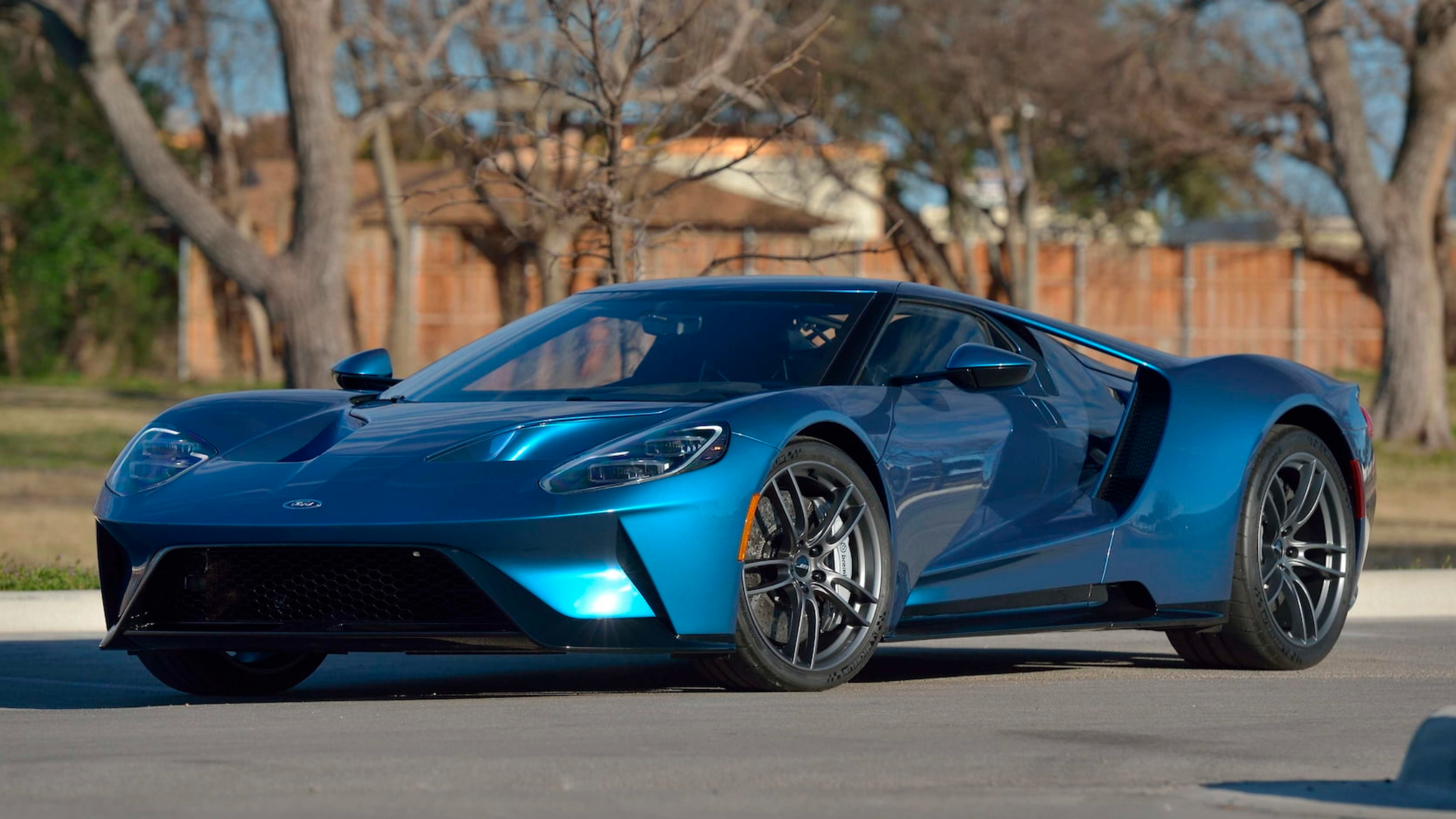 A Message From John Cena's Ford GT