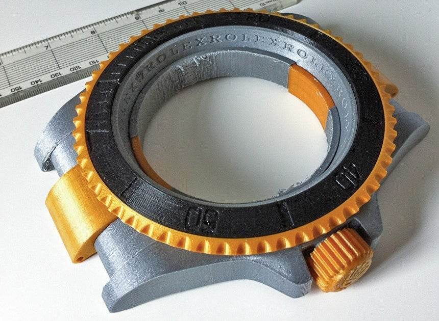 This Cheap 3D-Printed Rolex Would Be Perfect For Spendthrift Giants