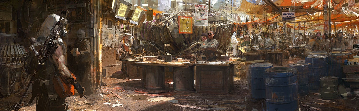 The fantastic worlds of Craig Mullins -- one of the best illustrators ever