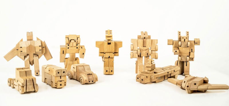 Hands On With Woobots, The Wooden Robots In Disguise
