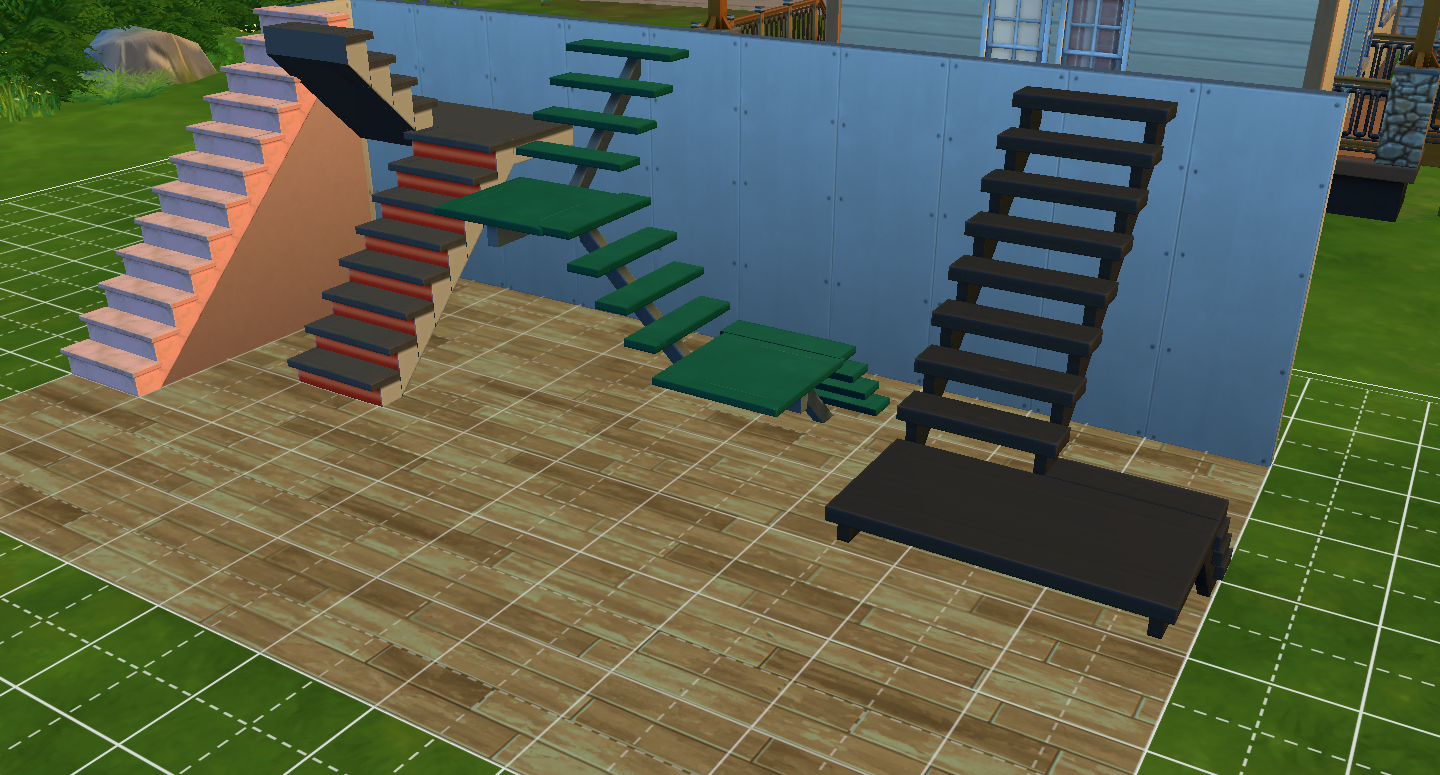 Customisable Stairs In The Sims 4 Blow Interior Design Options Wide Open