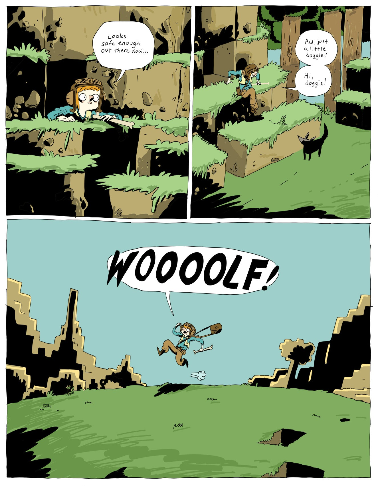 Sadly, We Never Got This Official Minecraft Comic