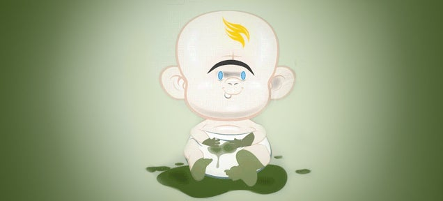 Cool animated baby care guide makes a great case against having them