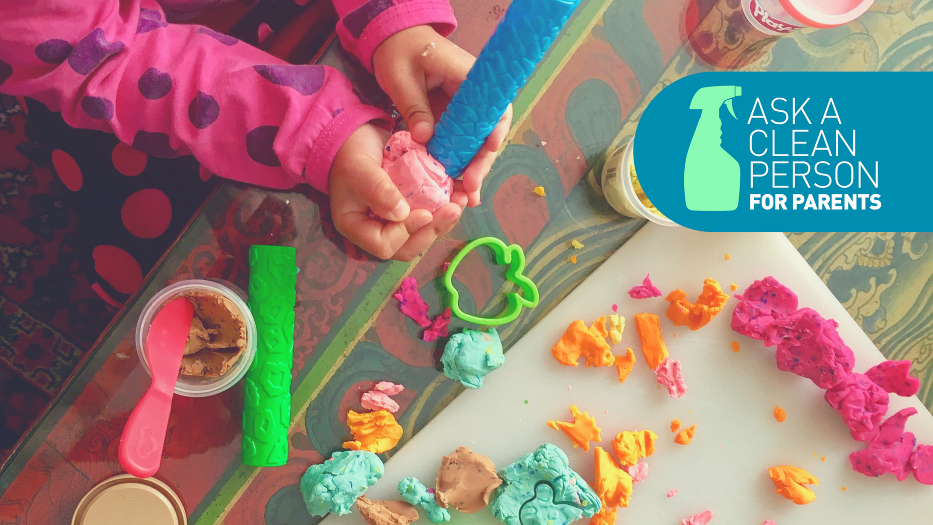 What To Do When Play-Doh Goes Through The Wash