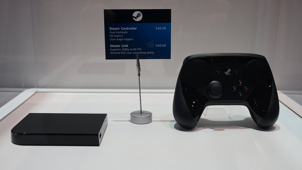 Up Close With Valve's Newest Steam Controller