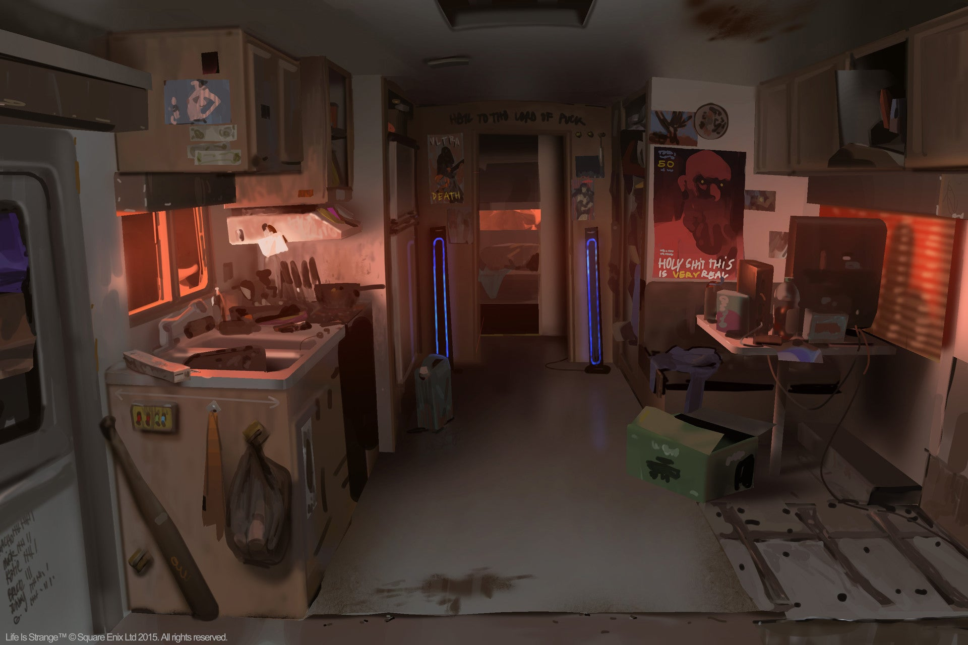 The Concept Art Behind Life Is Strange