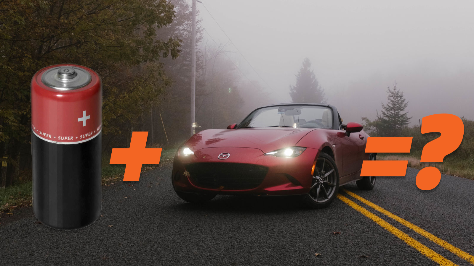 Is Electric The Answer For The Mazda Miata?