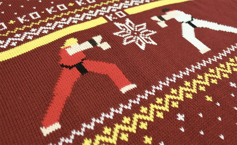 Hadouken the Halls With an Amazing Street Fighter Sweater