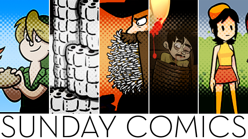 Sunday Comics: I Ain't Gonna Waste Them
