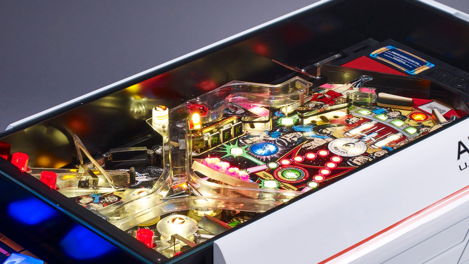 No Living Room Is Complete Without a Star Trek Pinball Machine Coffee Table