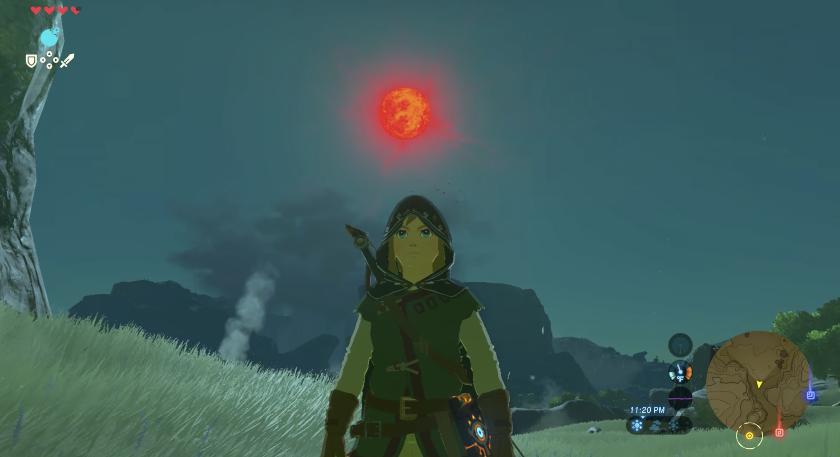Unlucky Zelda Breath Of The Wild Player Gets Blood Moon