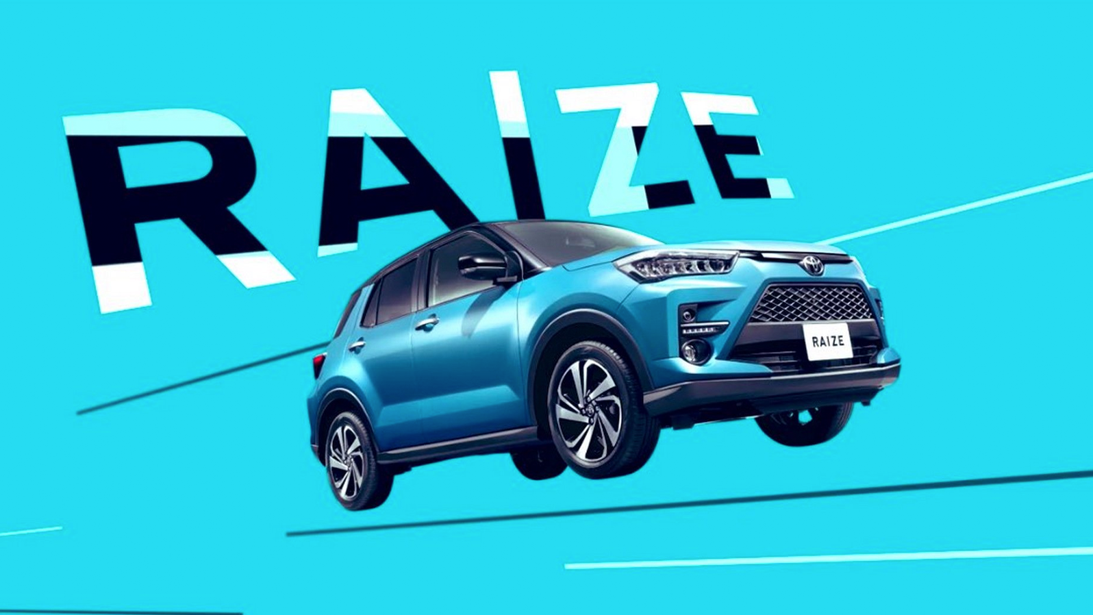 Toyota's Little Brother To The RAV4 Has A Funny Name