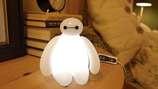 Big Hero 6 Baymax Lamp Illuminates With Light, Not Medical Advice