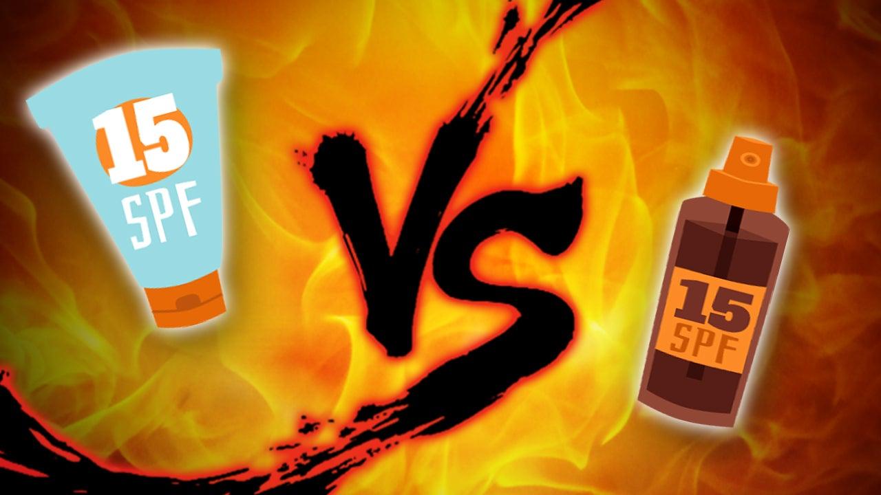 Sunscreen Showdown: Creams vs. Sprays