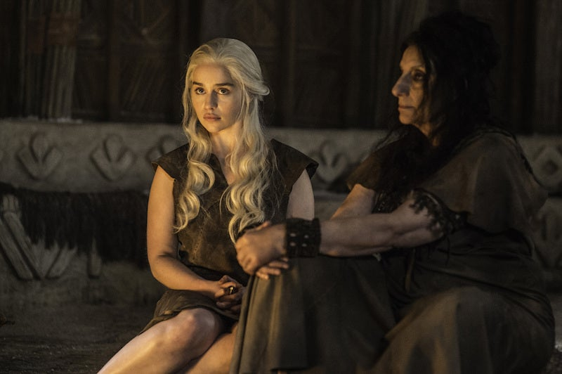 If You Didn't Cry During Last Night's Game of Thrones You May Be a White Walker