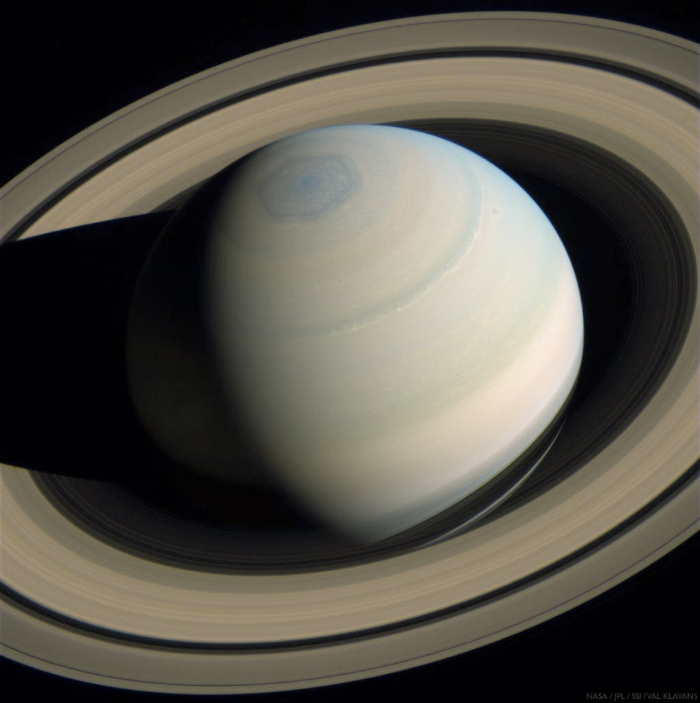 A beautiful photo of Saturn taken last Monday