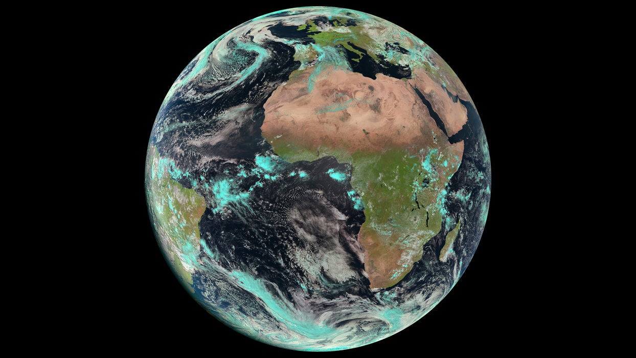 Here's Earth On Earth Day