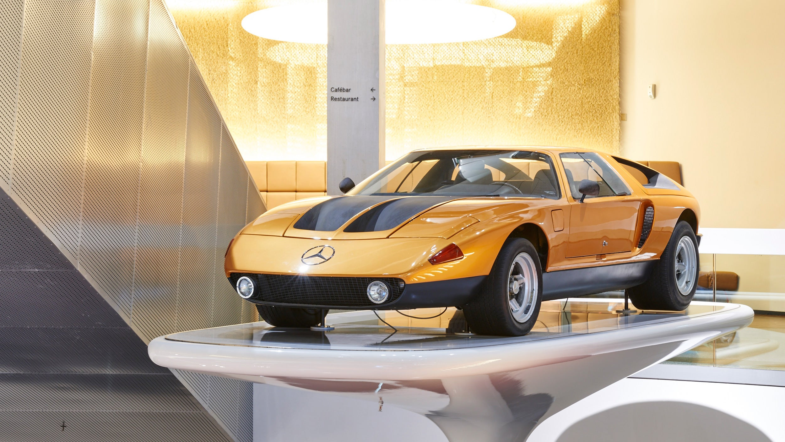 The Quad-Rotor Mercedes-Benz C111/II Prototype Is Already Half A Century Old
