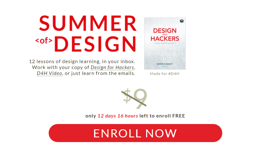 Summer Of Design Returns, Teaches You Design Basics For Free In 12 Emails