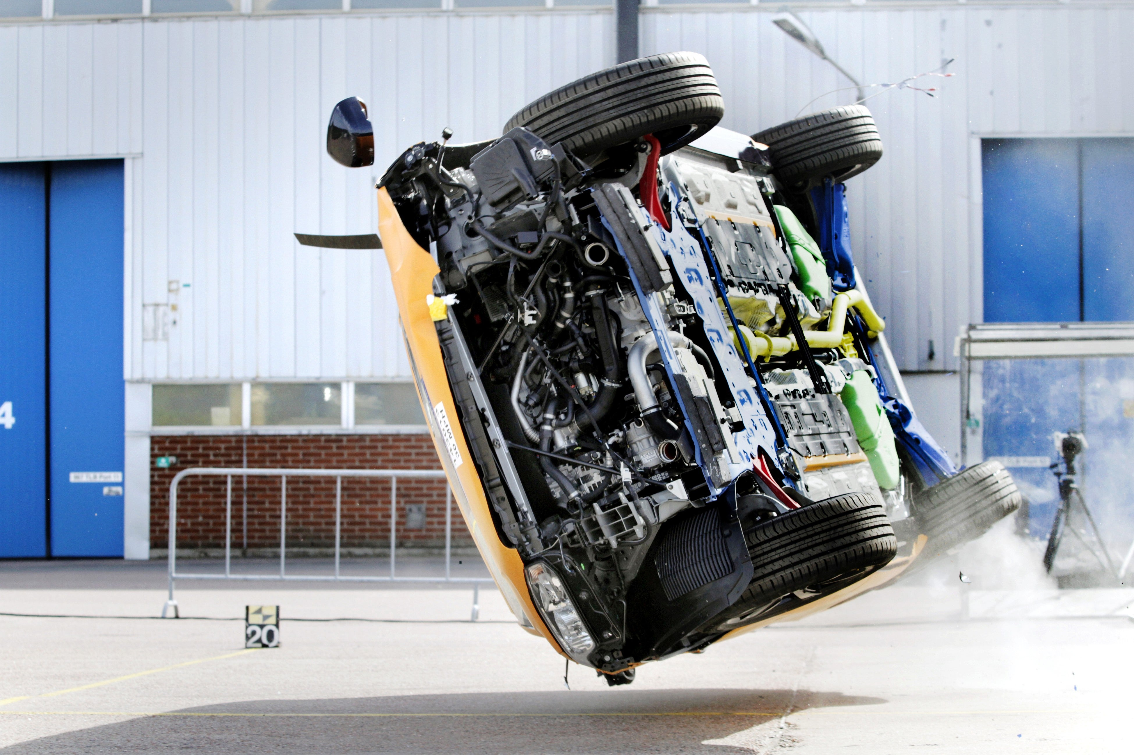 What It Takes To Make Cars That Keep Humans Alive If They Crash