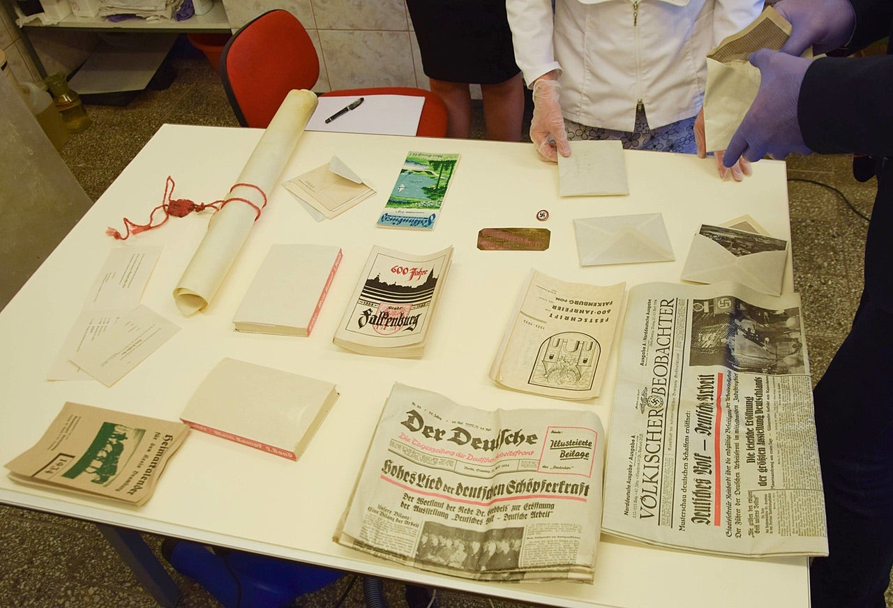 Nazi Time Capsule Opened In Poland, But It's Missing a Movie From 1934