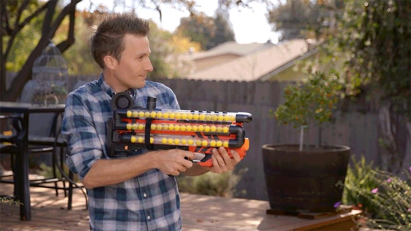 How to Upgrade Nerf's 113km/h Blaster With a Monstrous 108-Shot Magazine