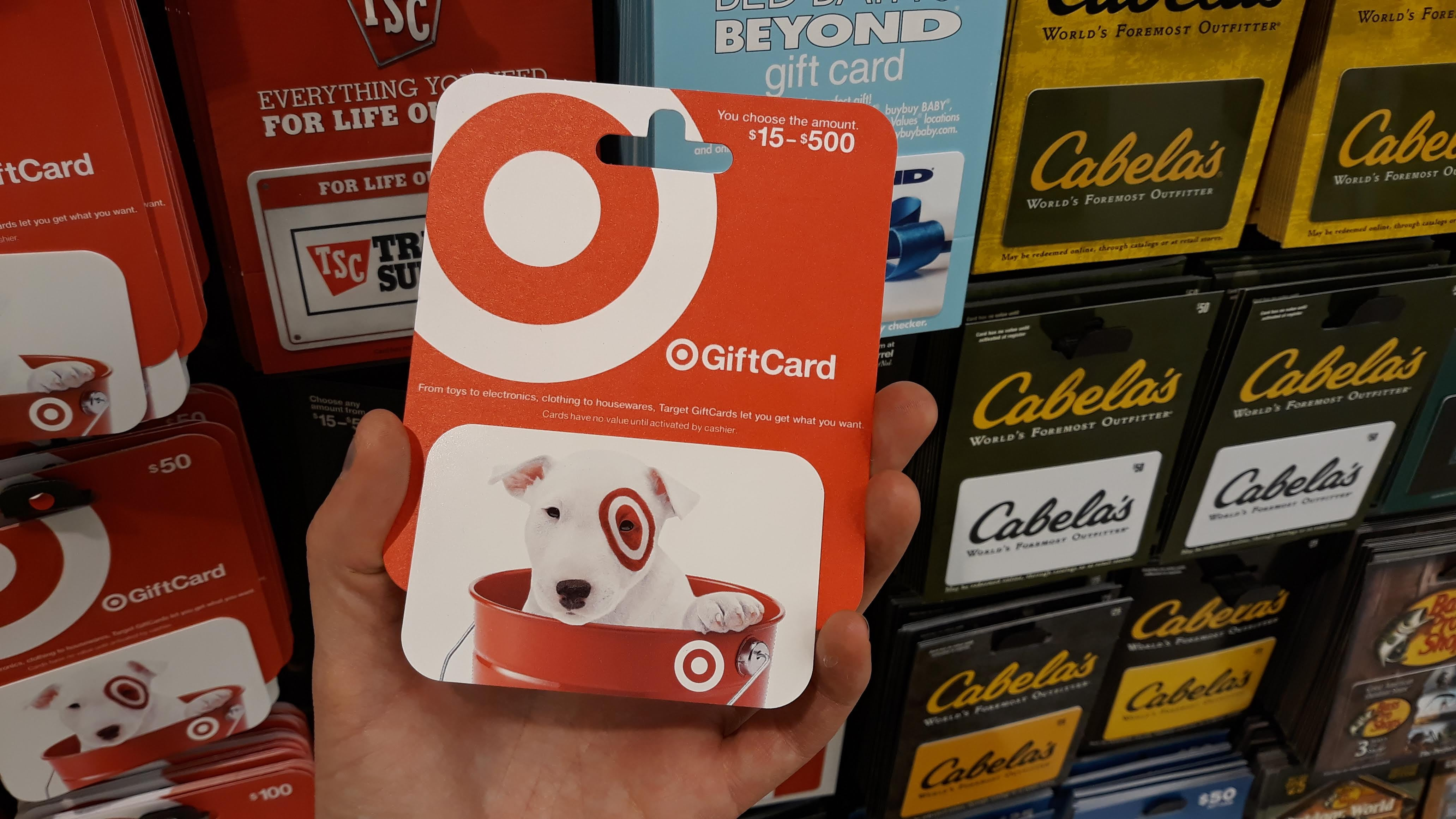 Get A Target Gift Card For 10% Off Today And Create Your Own 'Sale' Later On