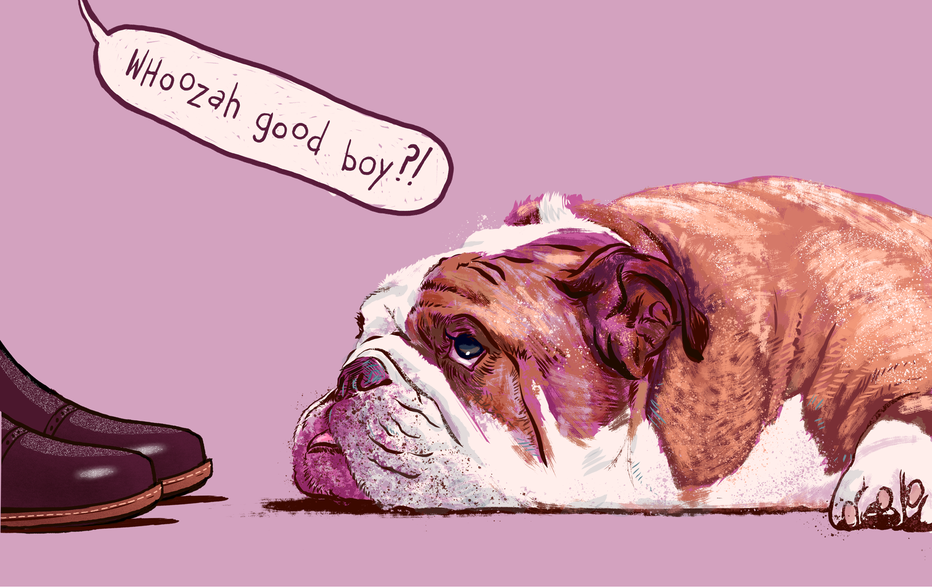 Grown-Arse Dogs Don't Care About Your Stupid Baby Talk