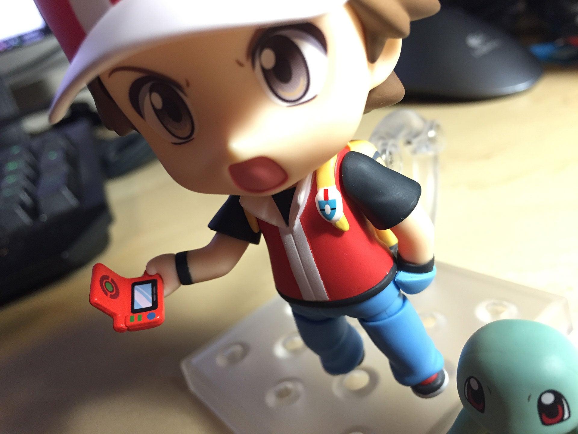 Nendoroid Pokémon Trainer Red: The Kotaku Review