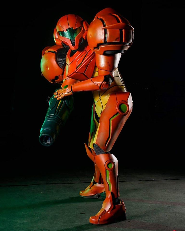 Some A+ Metroid Cosplay