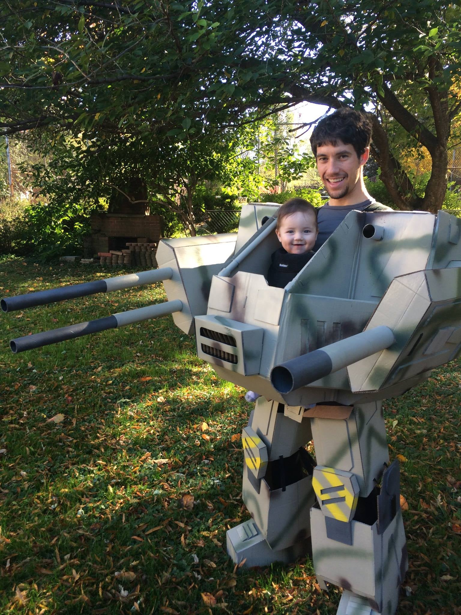 MechWarrior Baby Will Destroy Your Home, Eat Your Candy