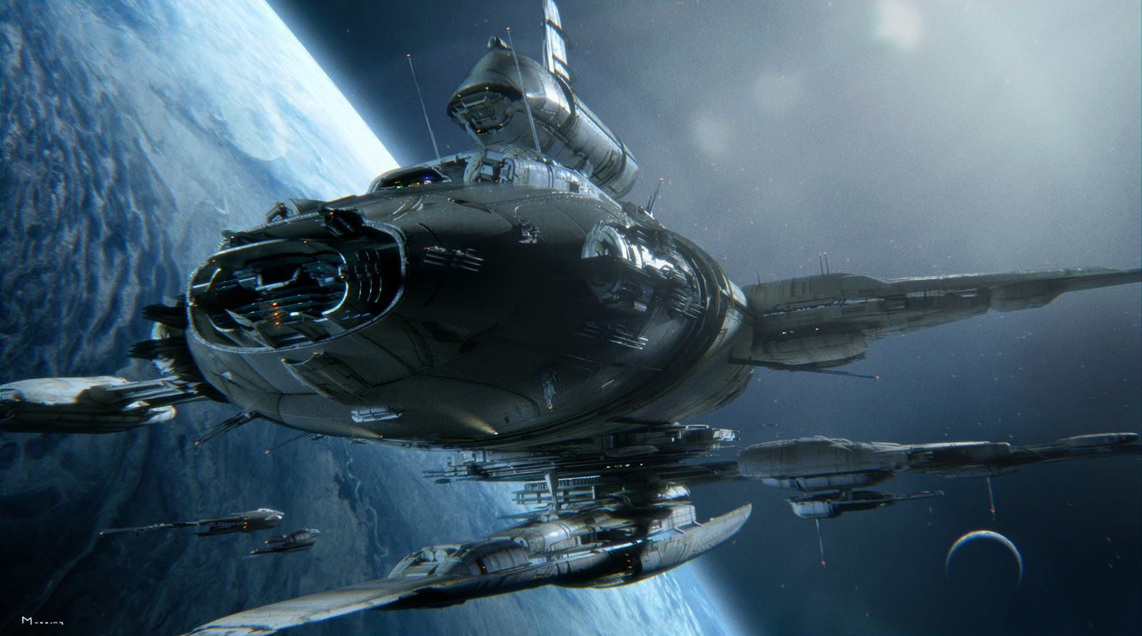 Exceptionnel The Magnificent Science-Fiction Art Of Steven Messing | Gizmodo  PY55