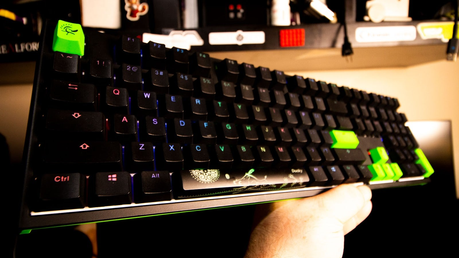 Razer And Ducky Made A Beautiful Keyboard Together