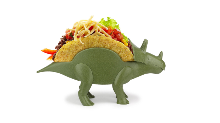 Why Wouldn't You Want A Dinosaur To Hold Your Tacos?