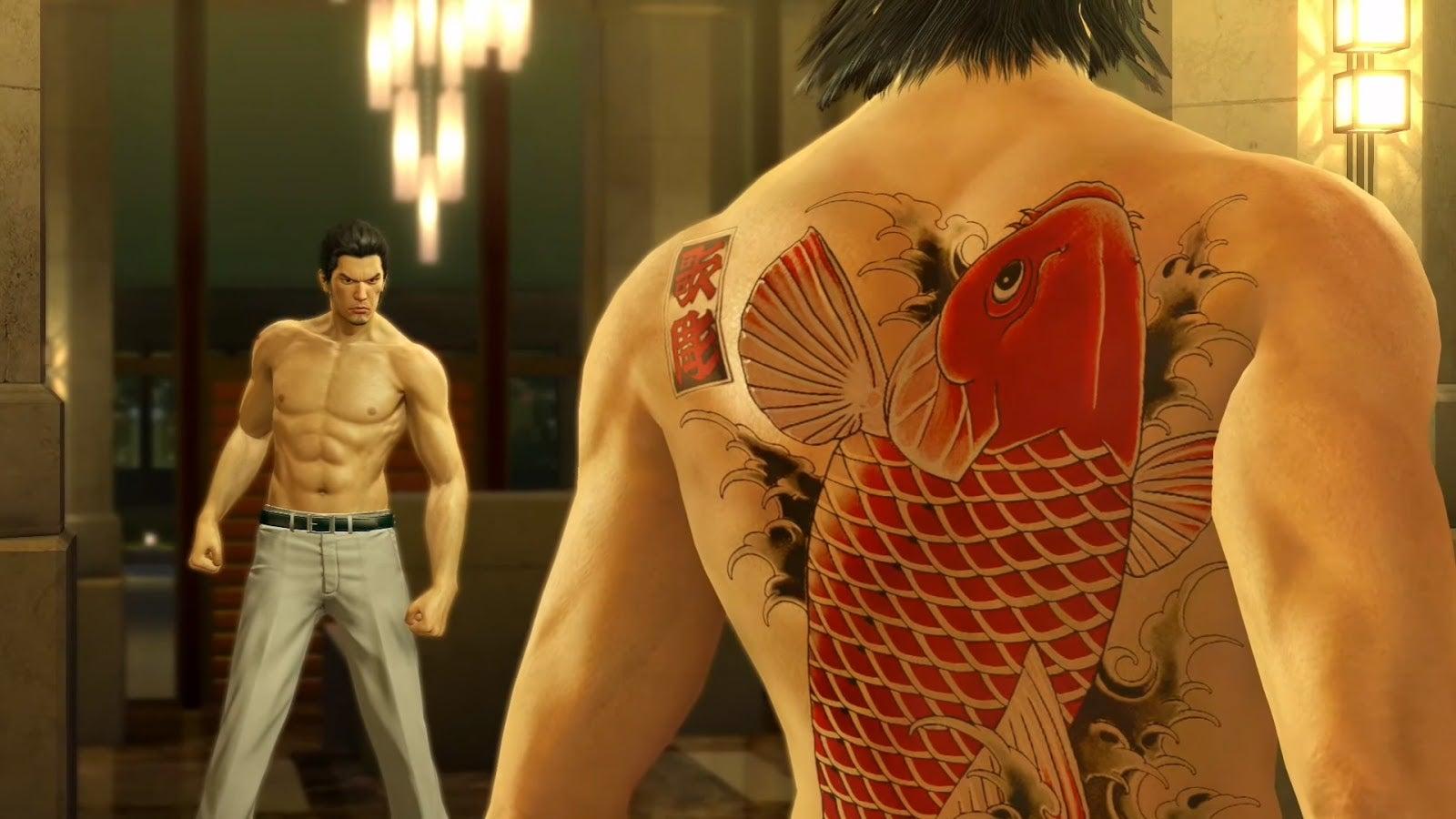 The Meaning Of Yakuza S Tattoos Kotaku Australia