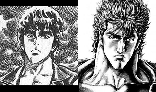 How Manga Characters Change and Evolve