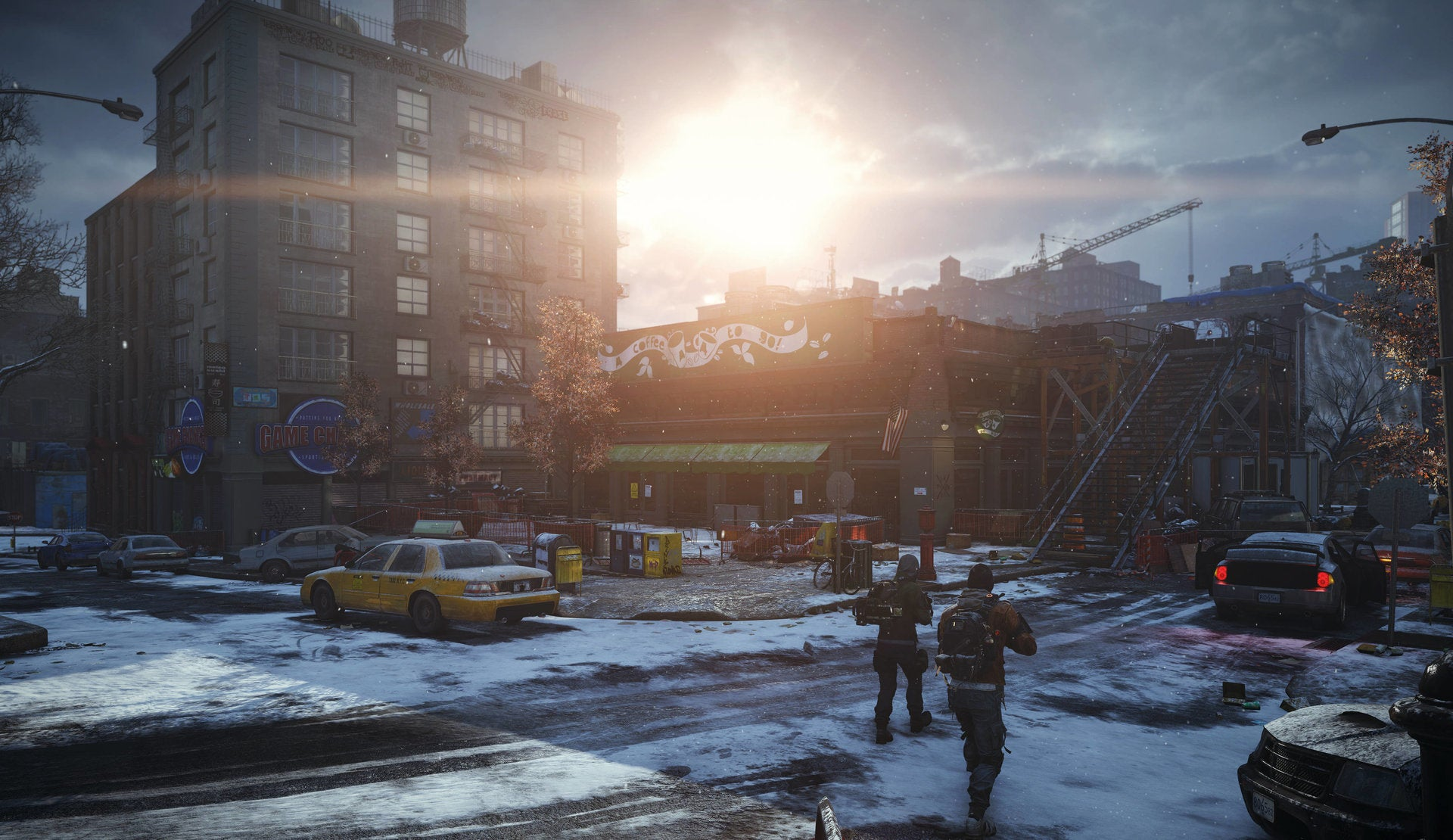 The Division Looks...Cold