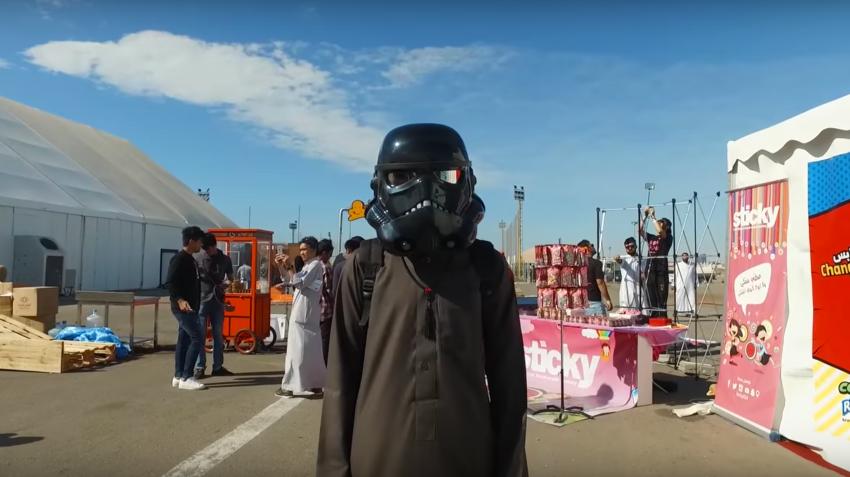 Saudi Arabia Holds Kingdom's First Comic Con