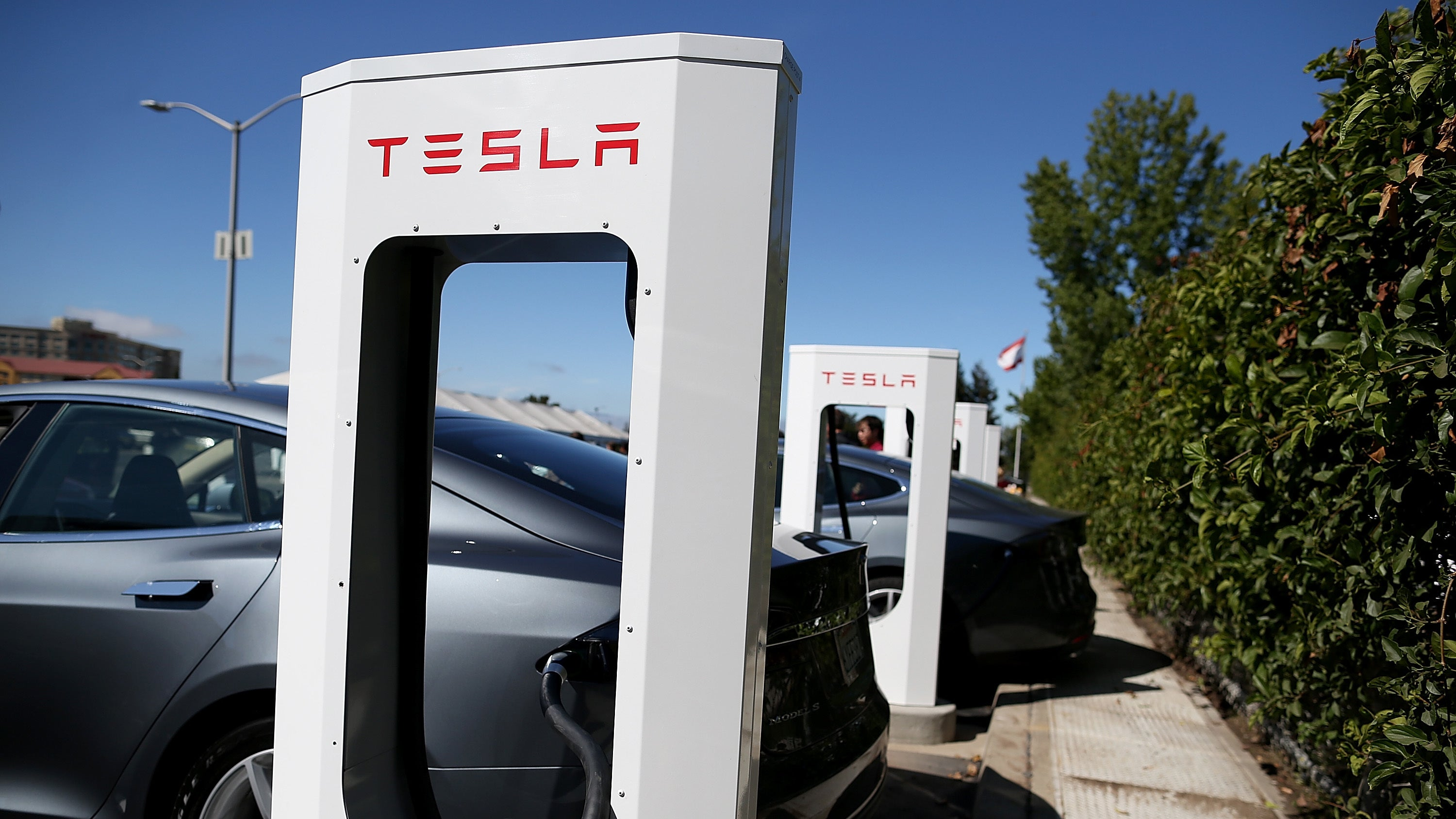 Tesla's Apparently Serious About Building A Supercharger Station With A Drive-In Restaurant