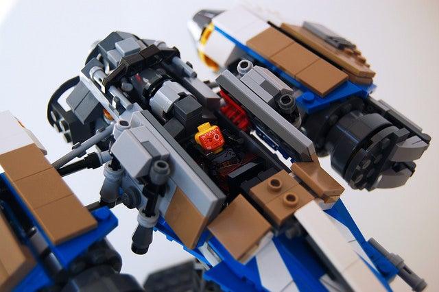 Destiny Arcadia-Class Jumpship In Lego