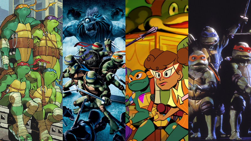 Where To Start With The Teenage Mutant Ninja Turtles Franchise