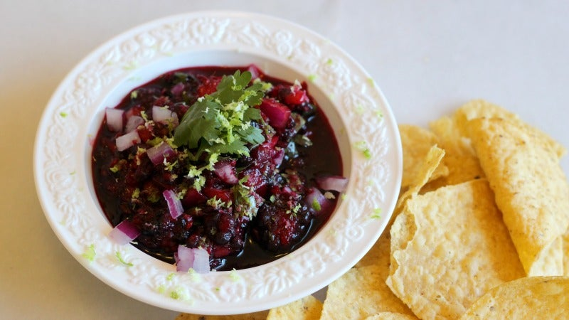 How To Use Up Pretty Much Any Leftover Berries By Turning Them Into Salsa