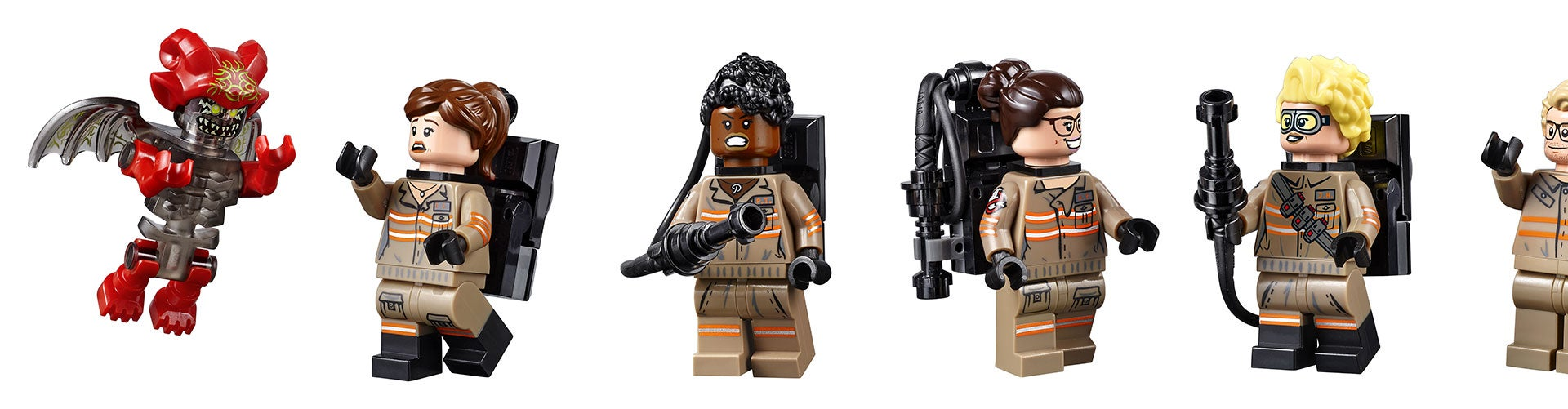 The New Ghostbusters (And Kevin) Get The LEGO Treatment