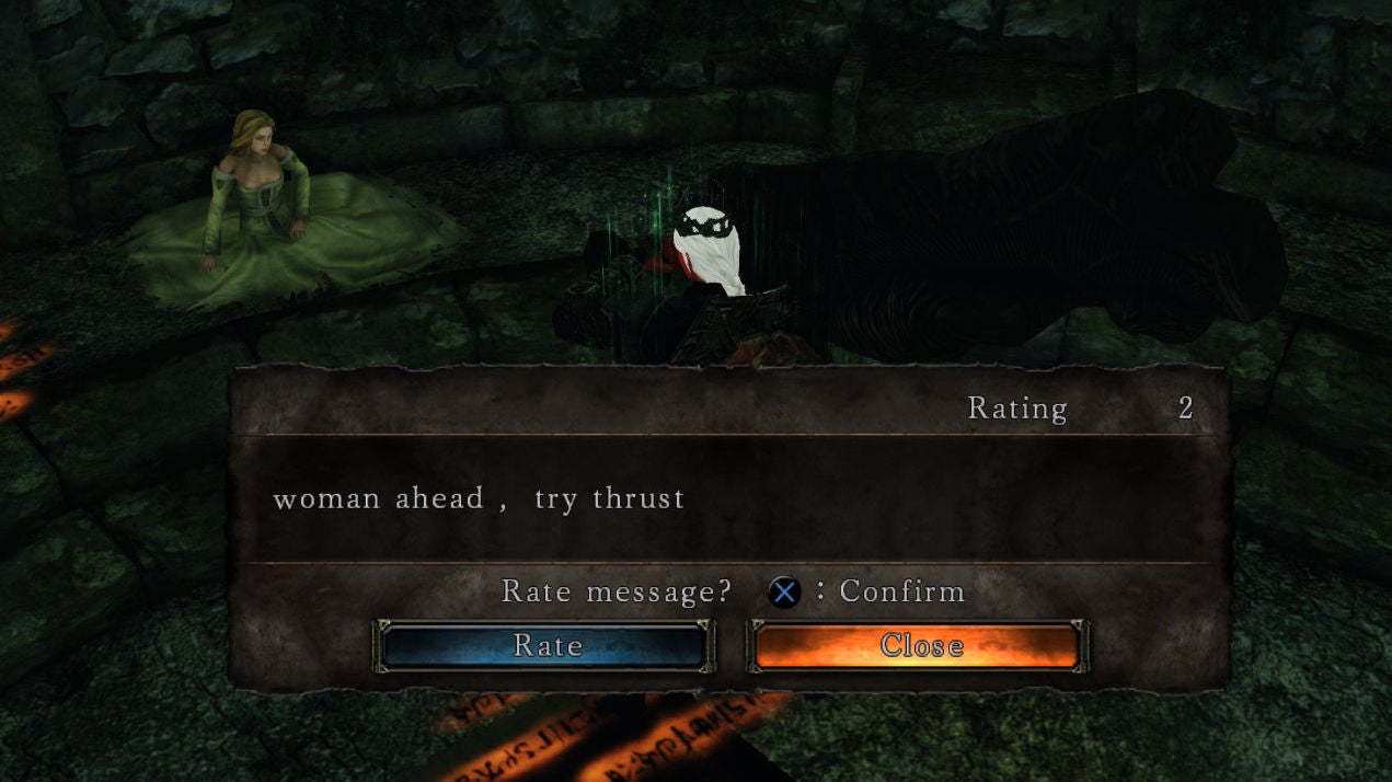 Souls Games Are Great, Except For The Sexist Messages From Some Players