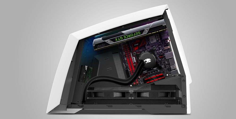 The Revolt 2 Gaming PC Wears Its Graphics Card Like A Pretty Hat