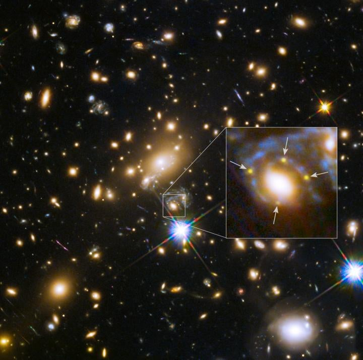 This Supernova Looks Like Four Exploding Stars
